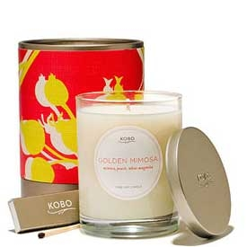 Golden Mimosa Soy Candle